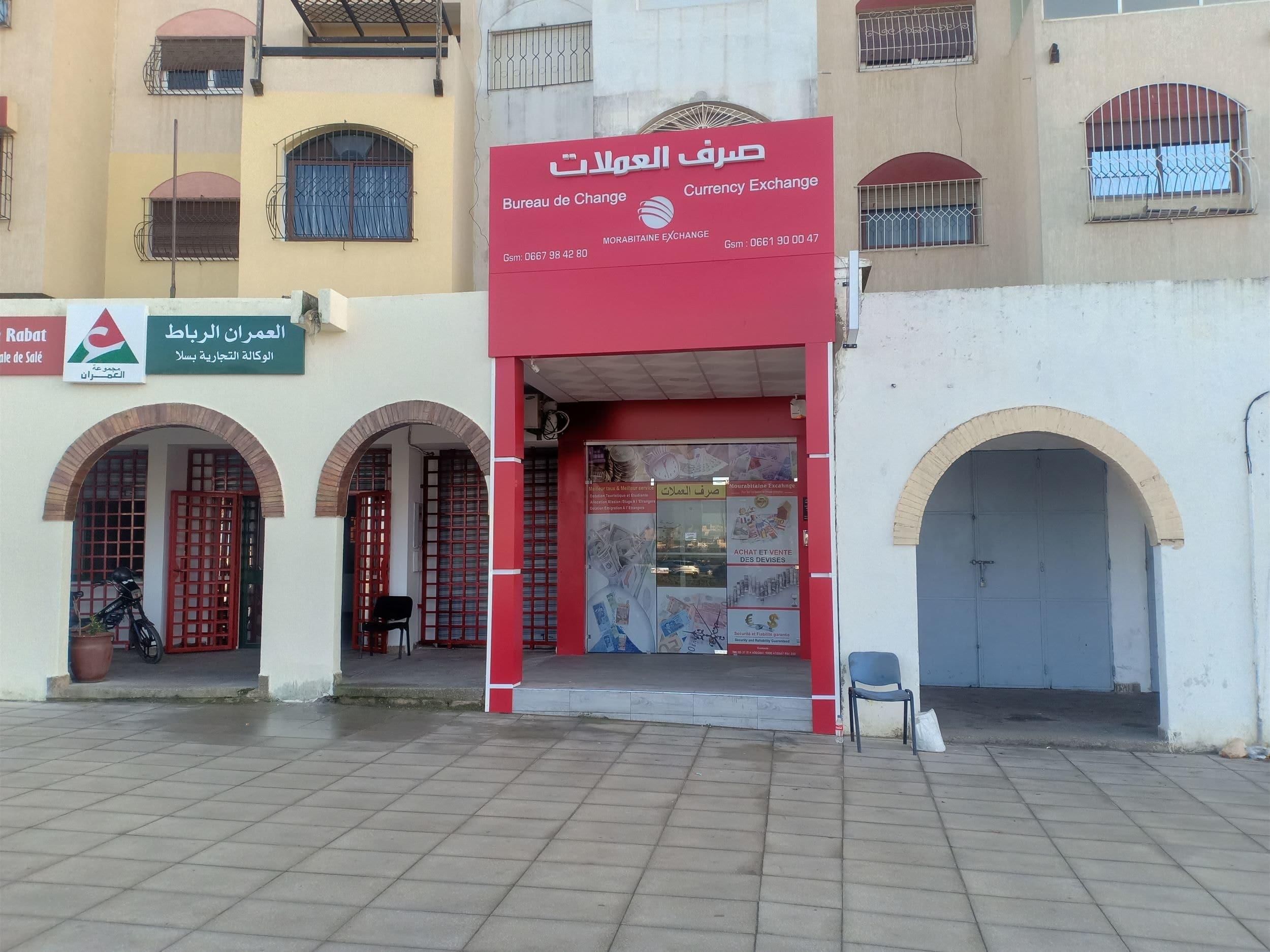 bureau de change à Salé