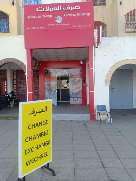 bureau de change à sale